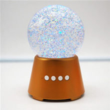 2017 Led Light Trending Water Ball Wireless Speaker The Water Dancer Speaker For USB/SD Iput/PC/Monile Phone