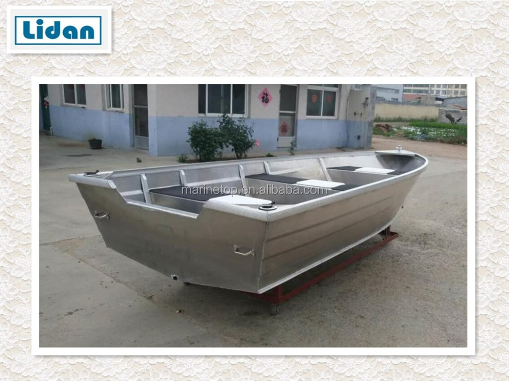 China wholesaler small welded aluminum boat aluminum for Aluminum fishing boats