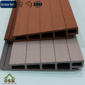 No Cracks Mothproof Wood Plastic Composite WPC Wall Panel 177*31MM