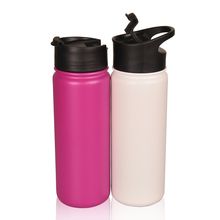 Best sale 32oz stainless steel vacuum water bottle sport style with handle flip cap
