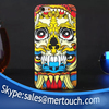 new products 2016 phone case skull heads luminous back cover for iphone 6 plus