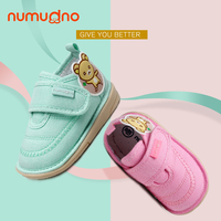 New arrival red bus cute cotton walking baby shoes learn to walk spring autumn kid shoes casual toddler shoes