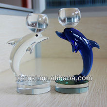 Delicate Crystal glass Dolphin For wedding Decoration or Gifts souvenirs