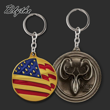 China factory supply custom made acrylic metal keychain for sale