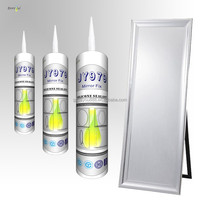 JY979 Free samples silicone neutral universal mirror shower cabin sanitary silicone sealant