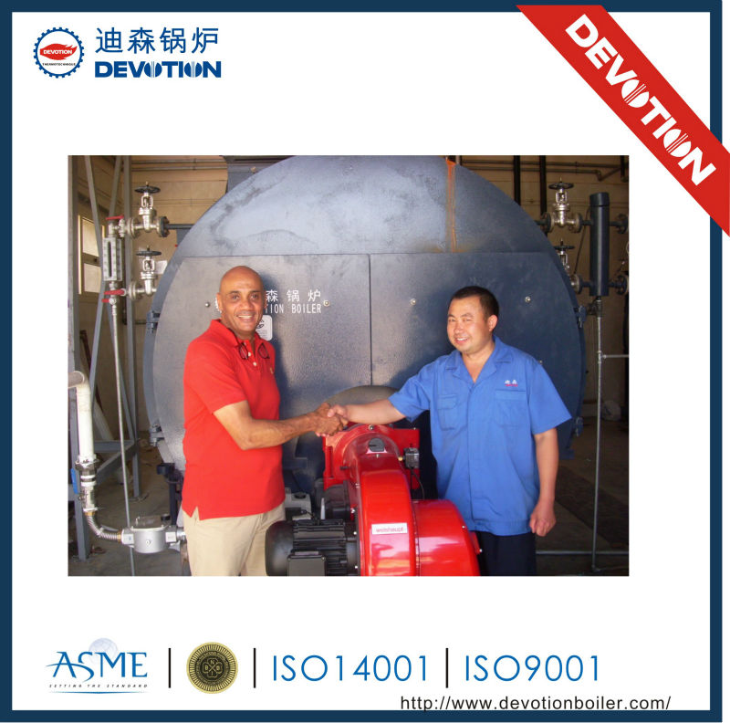 High quality competitive diesel oil fired steam generator price