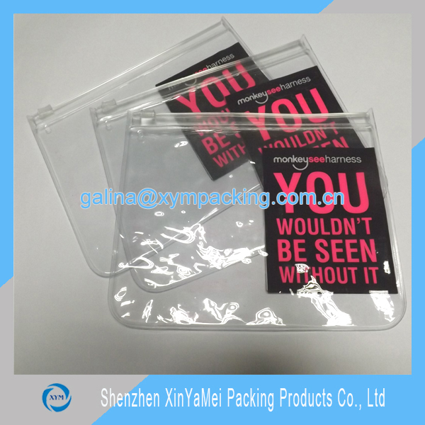 Promotional Cheap Customized Waterproof PVC Plastic Bag