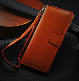 High Quality Tan Leather case