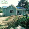 Top sale Light Steel Structure Prefab House Building/Prefabricated Villa