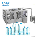 Full Automatic Complete PET Bottle Pure/ Mineral Water Filling Production Machine / Line /3&1 filling machine