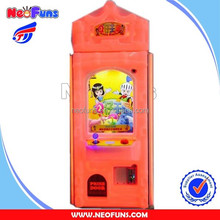 High Quality Hot Sale Amusement Coin Operated Catch Toys Prize Game Crane Claw Vending Machine