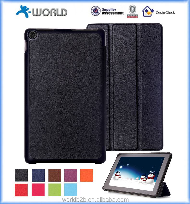 Ultra PU Leather Shell Case Cover For 2015 Amazon Kindle Fire HD 10 Inch