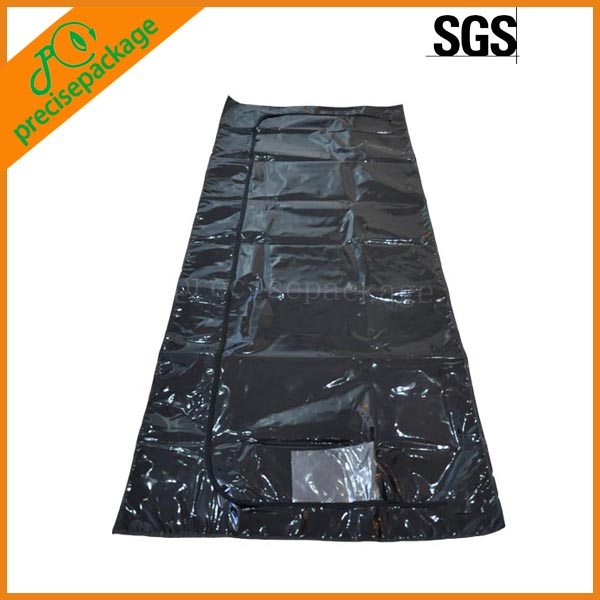 China high duty trend 0.2mm PVC body bags for dead bodies