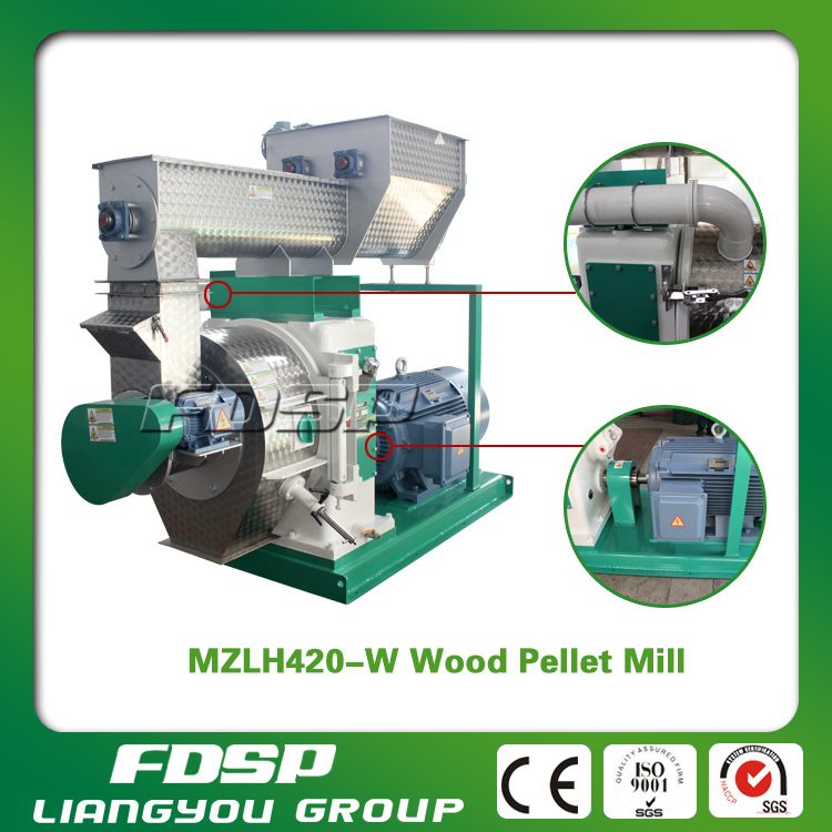 Best selling 1t/h palm fiber <strong>pellet</strong> press machine with CE for sale