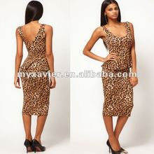 Midi Bodycon With Animal Print pictures formal dresses women