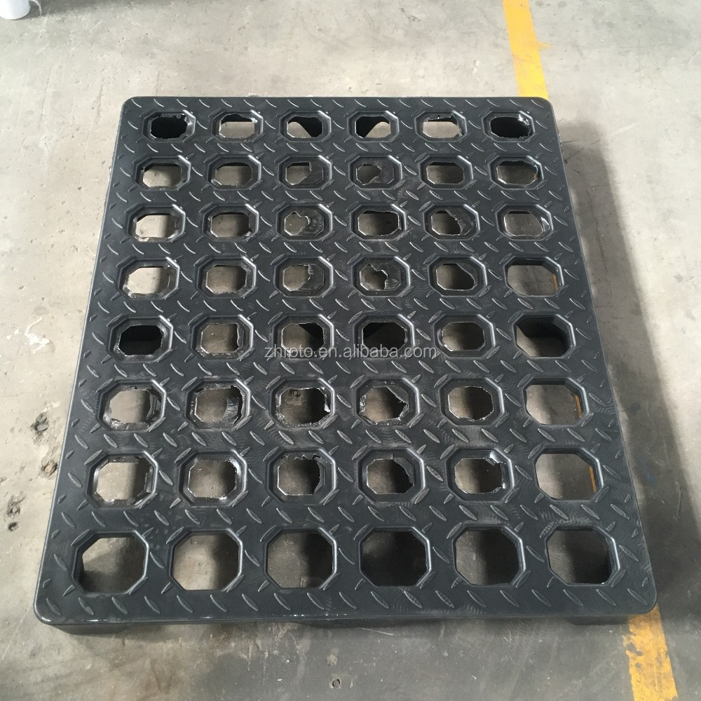 Plastic pallet mould by Rotational mould die casting aluminum/ Rotomolding