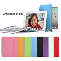 Ultra Thin Magnetic Smart Case Cover with Back Case For New Apple iPad 2 iPad 3 4