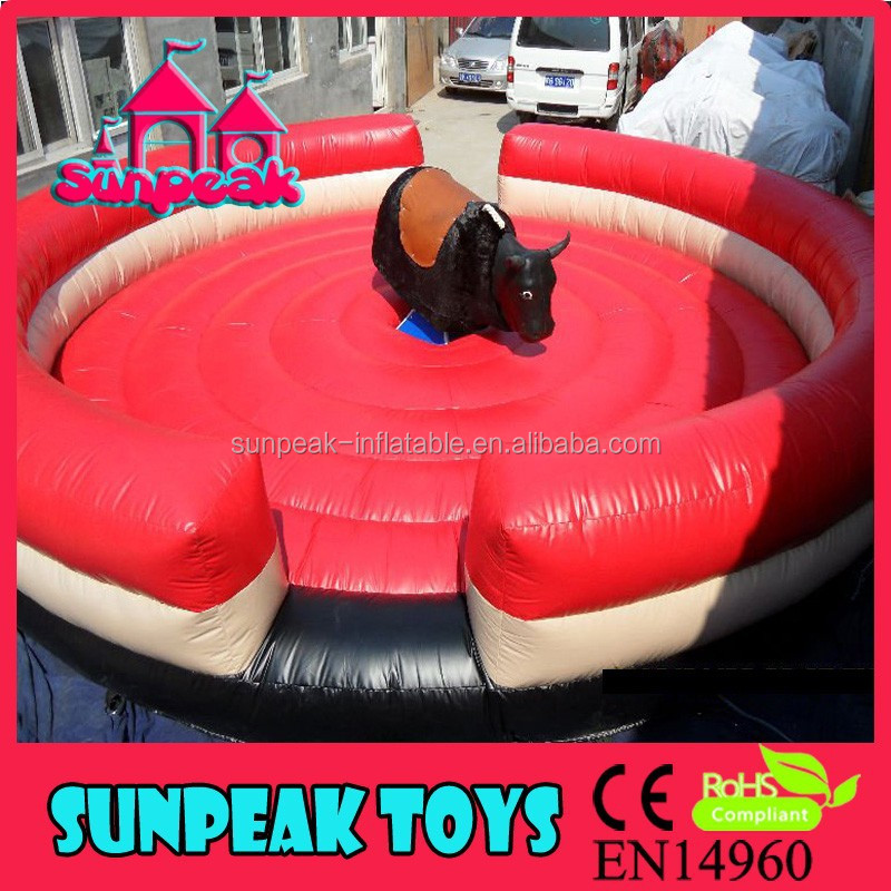 SP-1381 Inflatable Mechanical Bull Electronic Bull Games