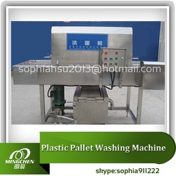 Automatic plastic crate/tray/pallet/plate machine