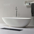 Home furniture resin stone bathtub , freestanding hot tub