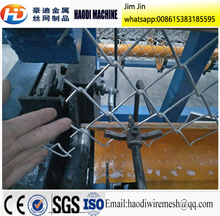 full automatic single wire chain link fencing machine/ diamond mesh machine price per set (made in china)