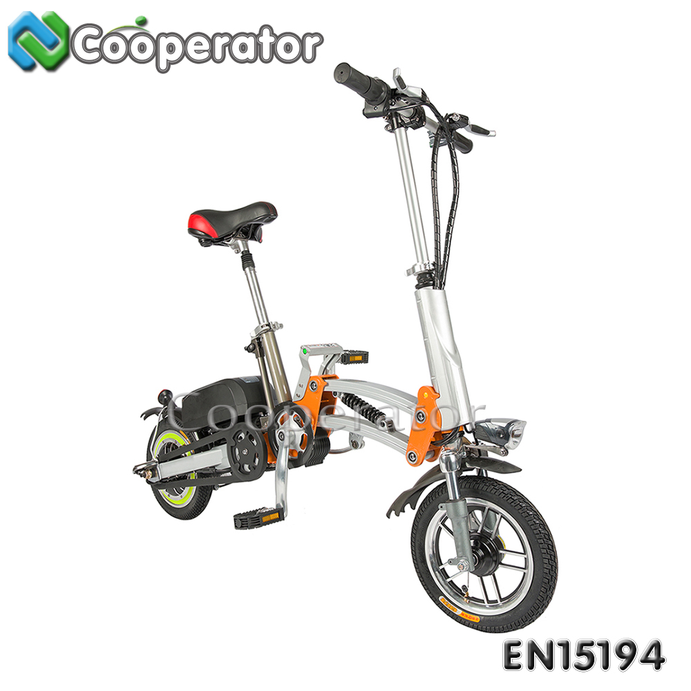 EEC Approval 12 Inch Smart Mini Foldable Electric Bike Bicycle