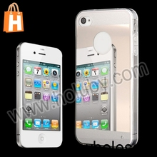 China Supplier Cheap Ultra Thin Dual-color Mirror Phone Case For iPhone 5 5S, Mirror Cover for iPhone 5/5S 4/4S
