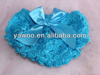 2013Newest!Newborn Baby Chiffon Ruffle Diaper Cover Ruffled Bloomers Lace Panties With Cute Bow Baby Cotton Bloomers For Kids