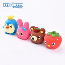 FX0067T Extremely Tough Cartoon Design Toys Pet Latex Toys For Dog