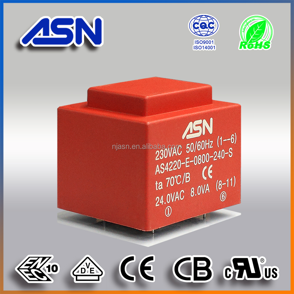 CE ROHS approved PCB mount encapsulated transformer EI 42 series EI42/20