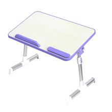 Portable Adjustable Foldable Laptop Desk Computer Table Stand Tray For Sofa Bed