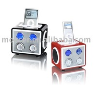 Docking station for IPOD with Radio,speaker
