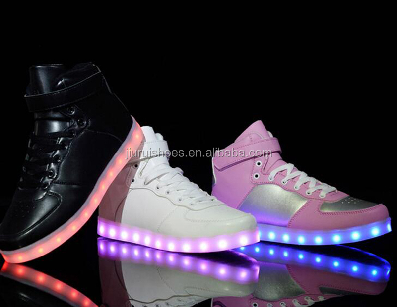 LOW MOQ customize led shoes with competitive price