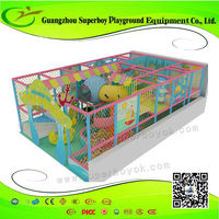 Indoor Playground 1.5mm Steel Pvc Pipe Gym 158-4a