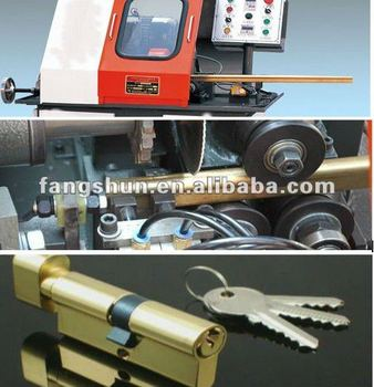 brass pad lock production machine solution