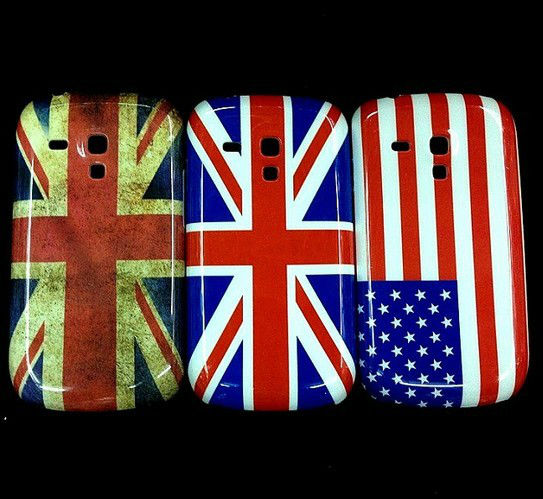 USA England Flag Hard back Case For Samsung Galaxy SIII S3 I9300 i8190 Mini