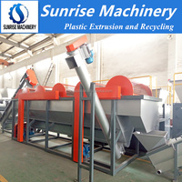 Dirty waste plastic recycling machine/washing recycling machine for waste plastic
