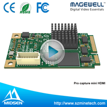 1channel Pcie Hdmi/sdi Mini Laptop Video Capture Card H.264 For Live Streaming Webcasting Game Broadcasting