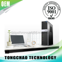 OEM Server Computer Ultra Slim Tool-less mini-ITX Desktop Tower PC Chassis