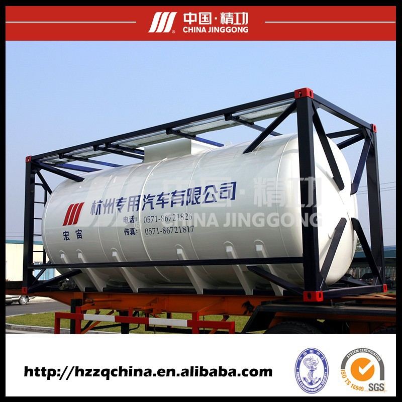 Custom stainless steel container for chemical liquid storage