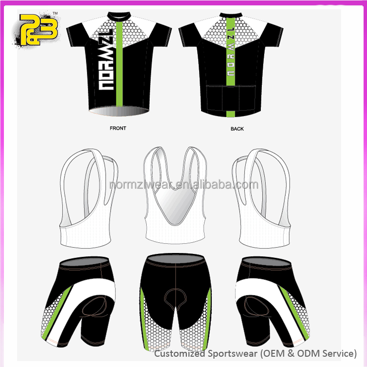 Hot wholesale own brand sports wear mens bike cycling clothing