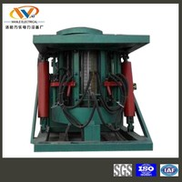 coreless crucible melting smelter for melting brass and copper for sale