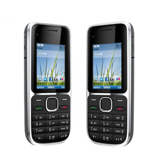 For Nokia Phone C2-<strong>01</strong> second hand mobile phone C2 2.0&quot; 3.2MP Bluetooth Russian&amp;Hebrew Keyboard GSM/WCDMA 3G
