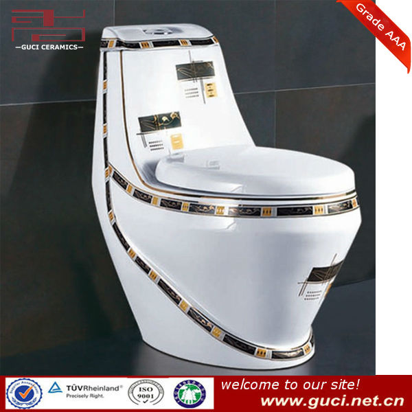 WC 1 piece s trap toilet