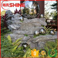 Customized Stainless Steel Hollow Decorative Backyard Ornament
