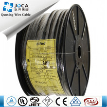 ul approved 300v 80c pvc ul2464 computer control cable multi-core 28/26/24/22/20 awg shieded ul wire / (**l**)