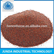 wear resistance garnet sand 80#for water jet cutting metal