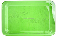DD crocodile rectangular 43cm plastic food serving tray