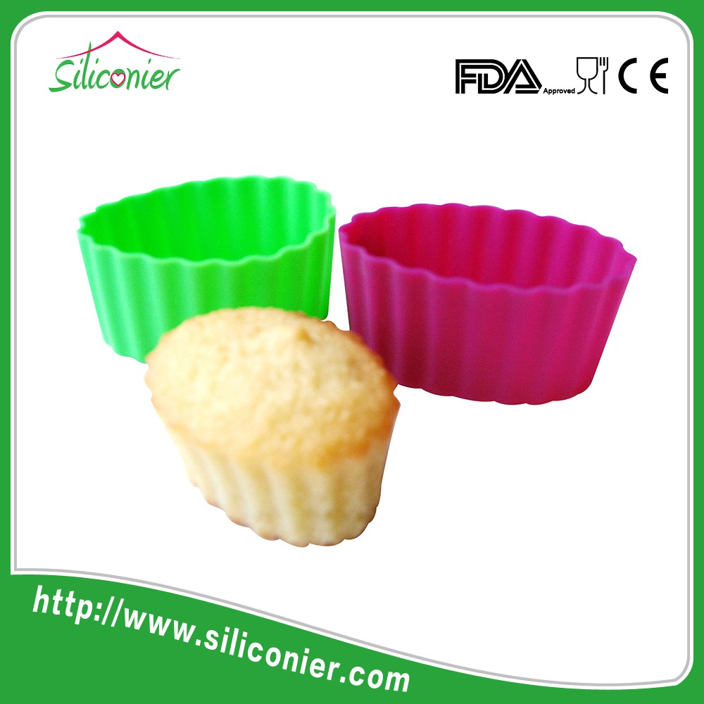 Factory direct sales silicone molds cupcake