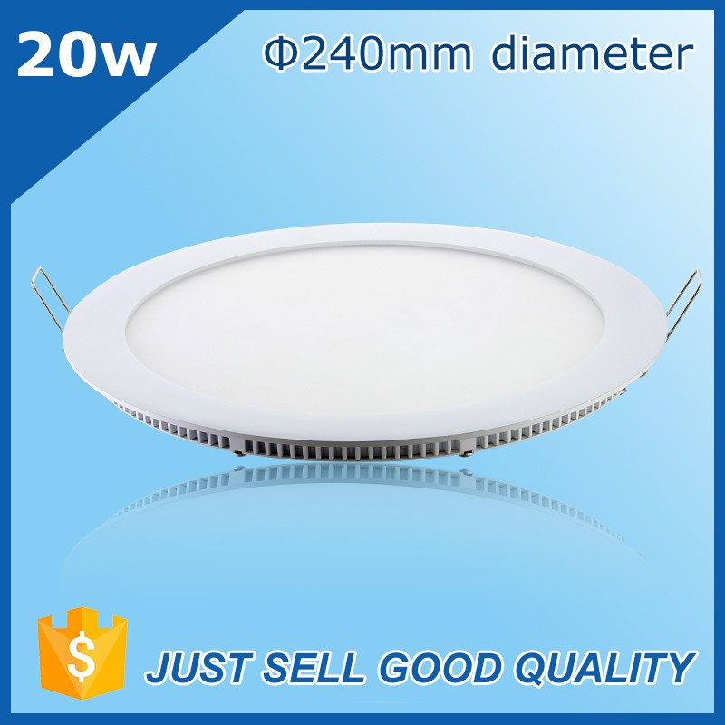 hanging led light panel 9inch IP40 downlights ultra-thin led flush mount ceiling panel light